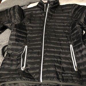 Thin puffer coat
